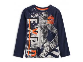 Chlapčenské tričko MIX´n MATCH EXP modré