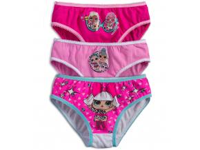 Dievčenské nohavičky L.O.L SURPRISE ružové