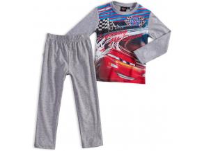 Chlapčenské pyžamo DISNEY CARS McQueen šedé