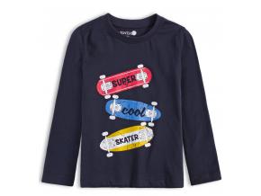Chlapčenské tričko VENERE COOL SKATER modré