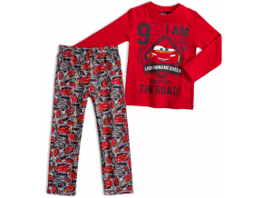 Chlapčenské pyžamo DISNEY CARS THE ROAD červené