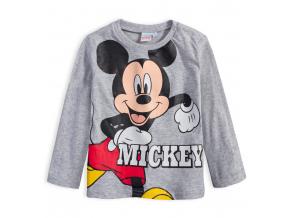 Chlapčenské tričko DISNEY MICKEY MOUSE šedý melír