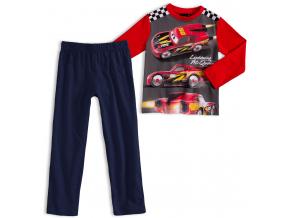 Chlapčenské pyžamo DISNEY CARS BLESK McQUEEN červené