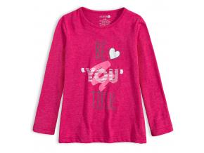 Dievčenské tričko VENERE BE´YOU´TIFUL tmavo ružové