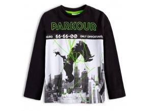 Chlapčenské tričko CANGURO PARKOUR čierne