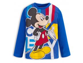 Chlapčenské tričko DISNEY MICKEY MOUSE stredne modré