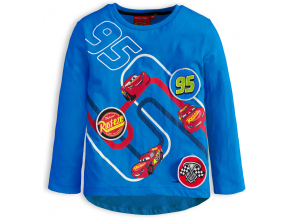 Chlapčenské tričko DISNEY CARS AUTA modré
