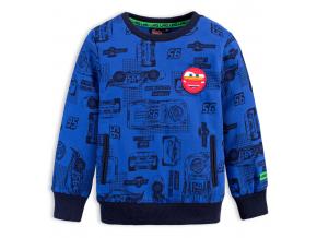 Chlapčenská mikina DISNEY CARS McQUEEN modrá
