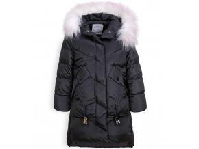 Dievčenský zimný kabát GLO STORY DOWN čierny