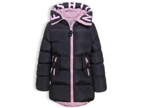 Dievčenský zimný kabát GLO STORY STYLE čierny