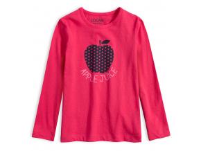 Dievčenské tričko LOSAN APPLE JUICE ružové