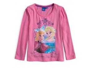 Dievčenské tričko DISNEY FROZEN MY SISTER ružové