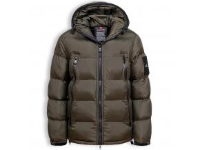 Chlapčenská zimná bunda GLO STORY VOGUE khaki