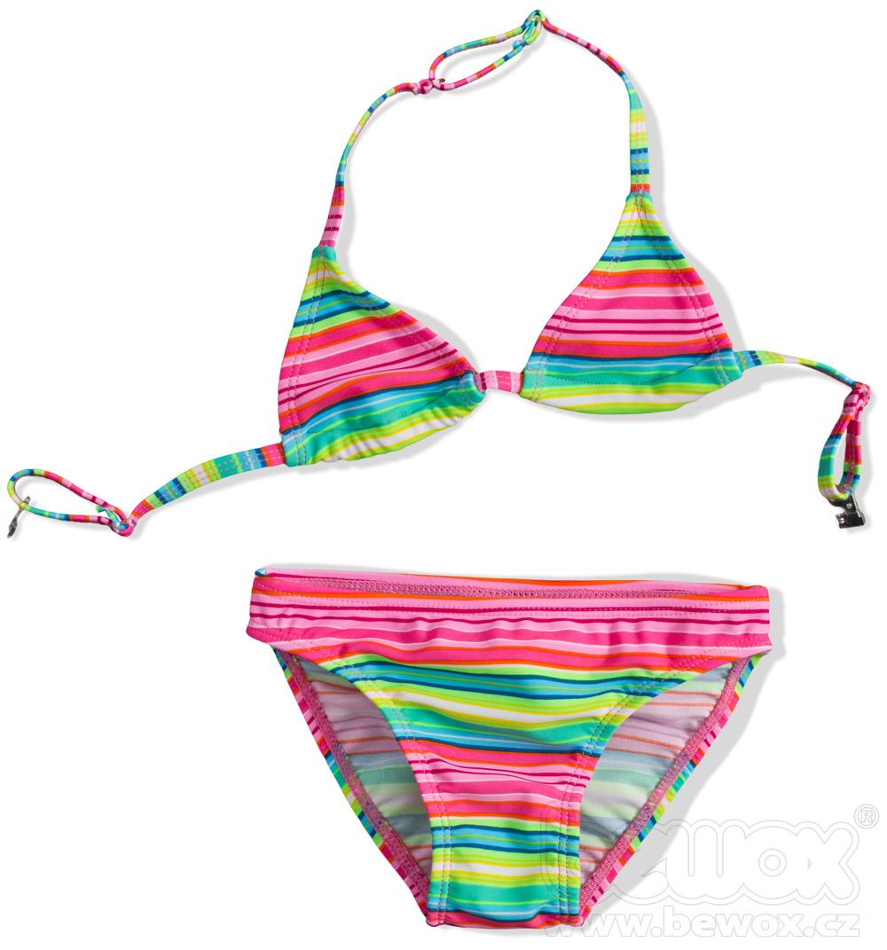 Dievčenské plavky dvojdielne