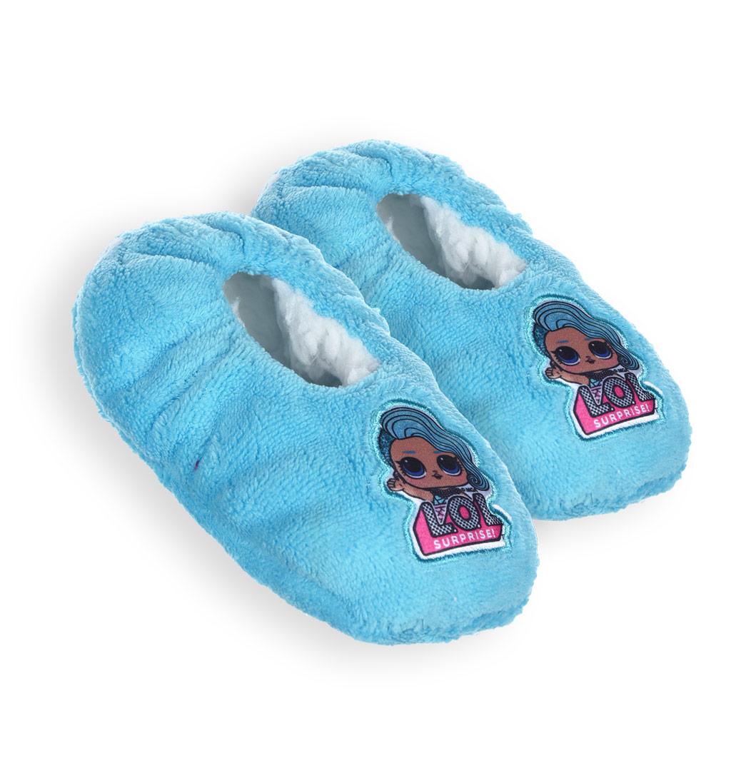 Dievčenské papučky L.O.L.SURPRISE tyrkysové