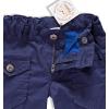 184614 2 chlapecke zateplene kalhoty dirkje modre