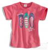 Detské tričko balerínky 'FABULOUS' Dirkje ružové