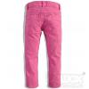 Dievčenské farebné džínsy Minoti BIKE svetloružové