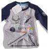 Dojčenské tričko dlhý rukáv, FOX BABALUNO