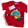 Detské tričko s krátkym rukávom MINOTI, BUS