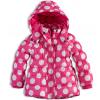 Dievčenská zimná bunda MINOTI GLITTER ružová