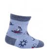 Dojčenské ponožky GATTA LOĎKA modré
