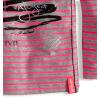 Dojčenské dievčenské tričko s potlačou DIRKJE RUŽOVÉ