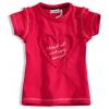 Detské tričko DIRKJE SRDIEČKO ružové