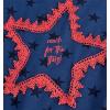 Dievčenské tričko DIRKJE STARS modré