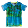 Chlapčenské tričko DIRKJE SPREAD THE VIBE modré