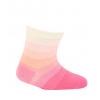 Dojčenské ponožky WOLA PRÚŽKY ružové