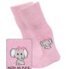 Dojčenské pančuchy pre dievčatá GATTA SLONÍČA ružové
