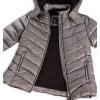 Dievčenská zimná bunda LOSAN FASHION šedá