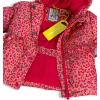 Dievčenská zimná bunda LEMON BERET POTLAČ oranžová
