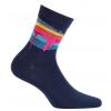 Chlapčenské ponožky GATTA COLOURS tmavo modré