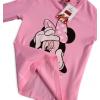 Dievčenské tričko DISNEY MINNIE SELFIE ružové