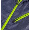 Chlapčenská šuštiaková bunda KNOT SO BAD META GREEN modrá