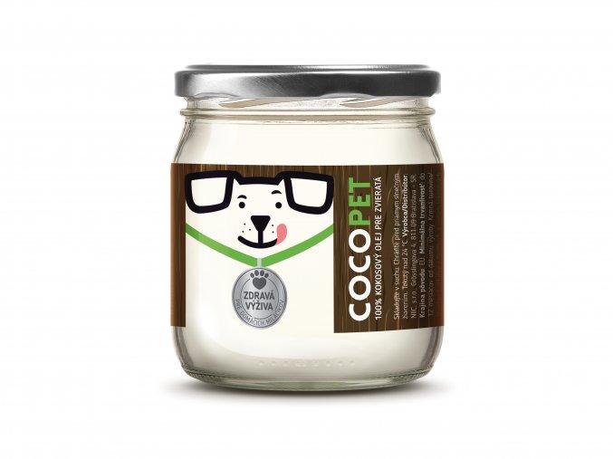 kokosový olej COCOPET 400 gramov