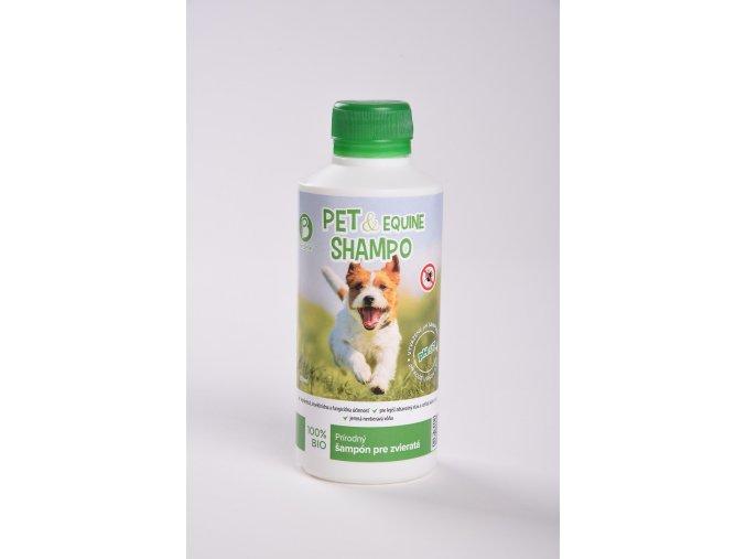 Pet equine 100 % bio šampon pre psy a mačky