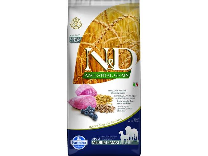 ND ANCESTRAL 12kg Adult Medium&Maxi Lamb [3D Front]@print