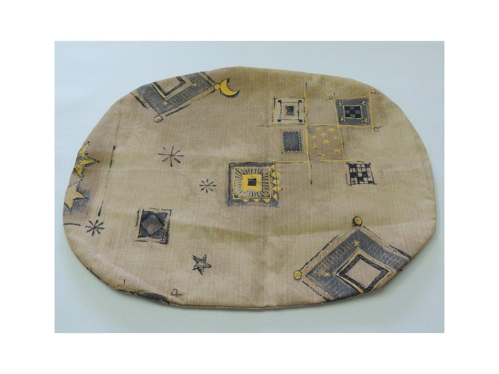 Bavlněný povlak na polštář vzor č. 35