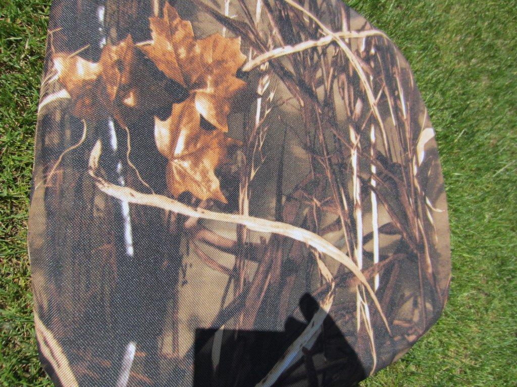 Povlak na polštář z batohoviny rákosí