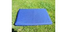 Povlak na polštář z batohoviny modrá