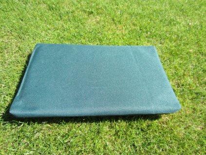 Povlak na polštář z batohoviny zelený