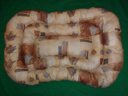 Polštář  pro psa materiál potahovka  vzor č. 87