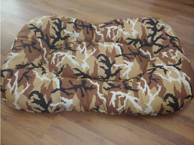 Polštář  pro psa materiál bavlna Army Písek