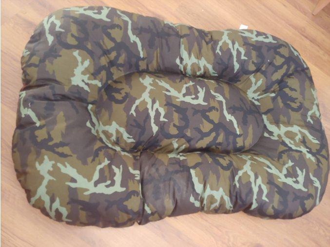 Polštář  pro psa materiál bavlna Army 85