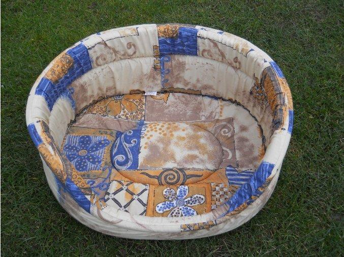 Molitanový pelech pro psy potah  bavlna č. 34