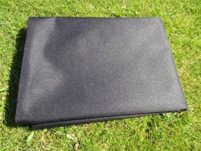 Povlak na polštář z batohoviny černá