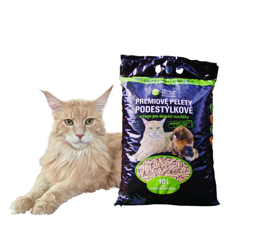 Podestýlkové pelety pro kočky